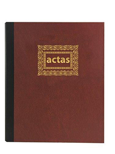Libro de Actas de Hojas Móviles - Color Burdeos (Modelo 5)