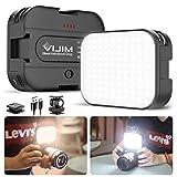 VIJIM VL100C Bi-Color LED Video Light on Camera,Mini Rechargeable 2000mAh LED Camera Lights,CRI95+ Dimmable 2500-6500K Ultra Bright Photo and Video Lighting,LED Fill Lamp