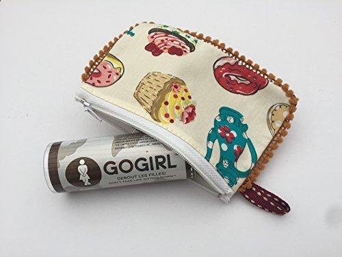 GoGirl offre Spéciale :urinoir portable (vert) avec pochette LIBERTY …