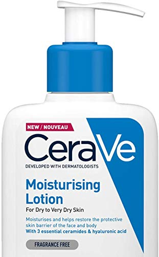 CeraVe Moisturising Lotion | 236ml/8oz | Daily Face & Body Moisturiser for Dry to Very Dry Skin