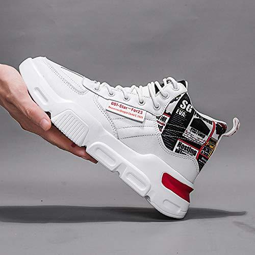 Women's Air Running Shoes,Correr por senderos,Calzado Casual de Moda Masculina Calzado Deportivo al Aire Libre-Red_42#