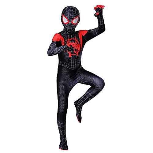 KIDsportxie Costumes Spiderman pour Enfants 7-8 Ans...