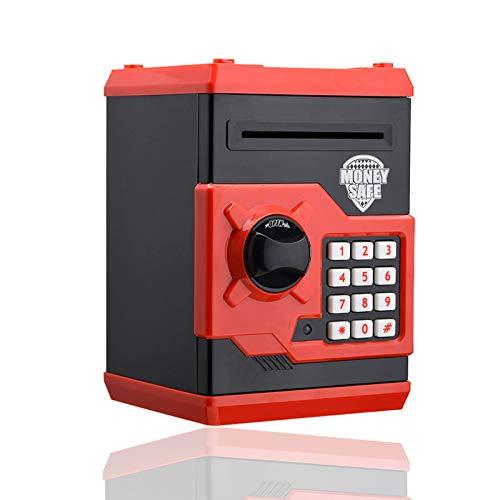 U S Hucha Electronica, Contraseña Money Bank para Cash Coin ATM Mini Coin Banks Mejores Regalos para niños (Nergo)