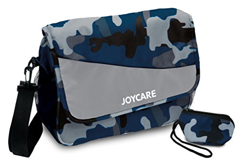 Joycare JC-1234 Pratica Borsa, Mimetico Grigio