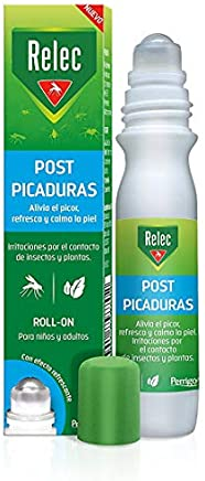 Relec Roll On Post - Picaduras de Mosquitos, Insectos y Plantas - 15 ml