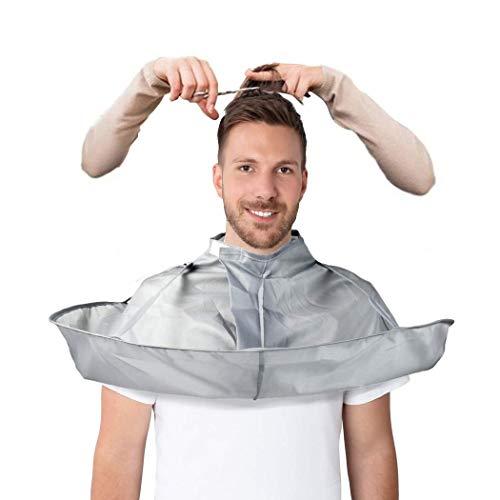 Friseurumhänge, Haar Schneideumhang Regenschirm, Friseurumhang mit Flexibel Klettverschluss, Wasserdichter und faltbarer Friseurumhang aus Nylontuch für Haarstyling, Schnitte und Farben