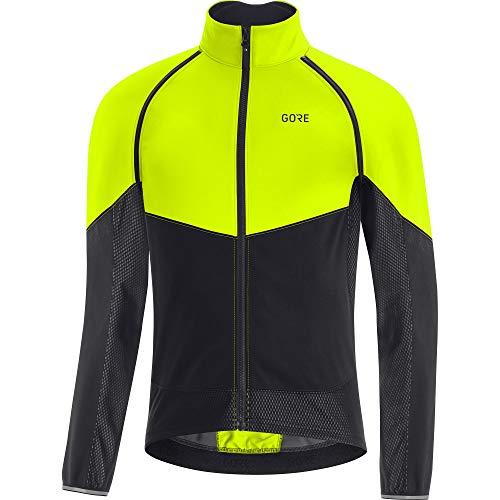 GORE WEAR Men's Phantom Gore-tex Infinium Jacket, Neon Yellow/Black, XS