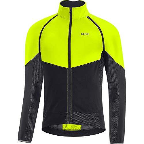 GORE WEAR Phantom Gore-Tex INFINIUM Chaqueta, Hombre, Neon Yellow/Black, L