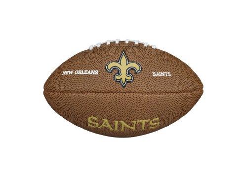 NFL Team Logo Mini Football, Brown - New Orleans Saints