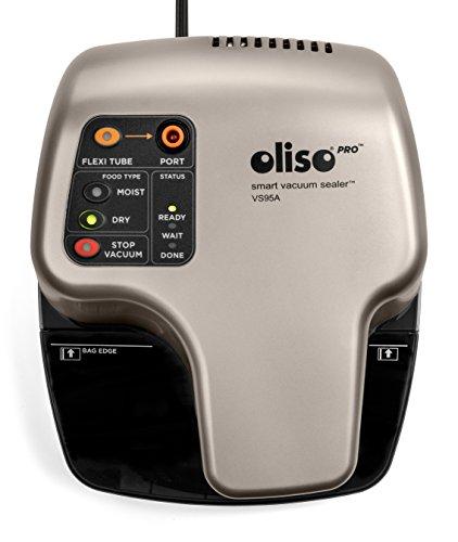 Oliso Pro VS95A Smart Vacuum Sealer, Silver