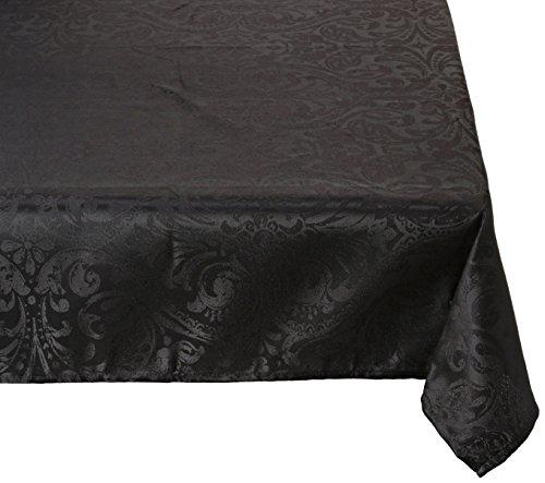 Lovely Casa Nappe, Polyester, Noir, 240x145 cm
