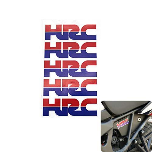psler Motorcycle Emblem Decal Tank Wheel Tire Sticker Decoration Decals for Honda HRC
