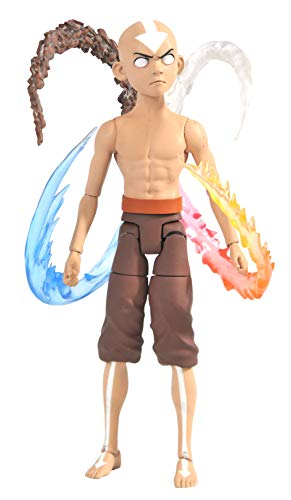 DIAMOND SELECT TOYS Avatar The Last Airbender: Final Battle Aang Deluxe Action Figure