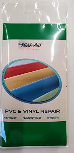 Tear Aid Type'B' - 12' (30cm) x 3' (7.5cm)' Strip - Ideal for PVC/vinylrepairs