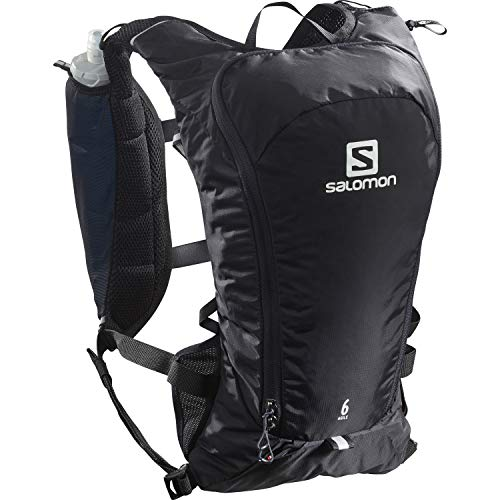 Salomon Agile 6 Set Chaleco 6L Unisexo 2x Soft Flasks Incluidas Trail Running Senderismo