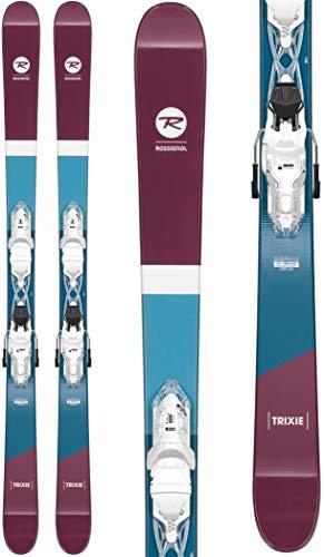 Rossignol Trixie/Xpress 10 Ski Package Womens Sz 158cm White/Sparkle