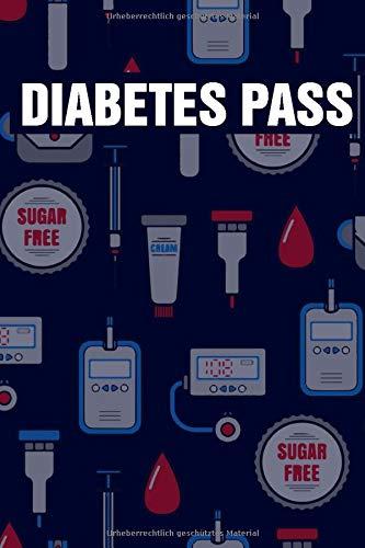 Diabetes Pass: Diabetespass für Diabetiker in A5 - Täglicher und Wöchentlicher Diabetes Tracker als Blutzucker und Insulin Tagebuch oder Pass zum Eintragen für 1 Jahr 52 Wochen - (Deutsch)