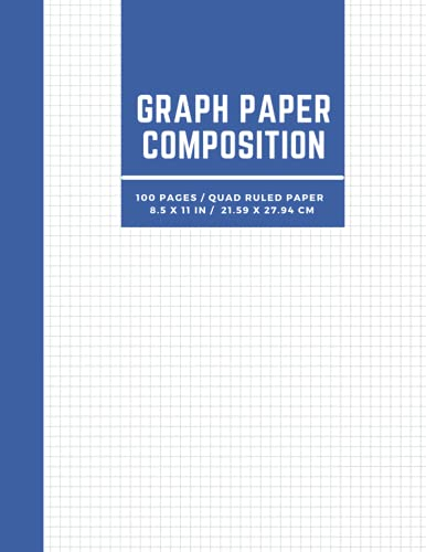 Graph Paper Composition Notebook: Quad Ruled Five squares per inch, Engineering Paper Notebook, Grid Paper Notebook, Math and Science Composition ... 8.5 x 11) (Graph Paper Notebook Journal)