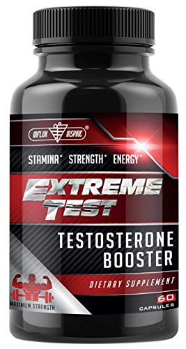 Testosterone Booster for Men - Test Boost Advanced Male Enhancing Pills - Testosterone Booster with Horny Goat Weed - Test Booster Muscle Builder - Energy Libido Booster with Tongkat Ali - 60 Capsules