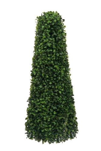 McPalms Buchsbaumpyramide 60 cm künstlicher Buchsbaum Kunstpflanze Buxus