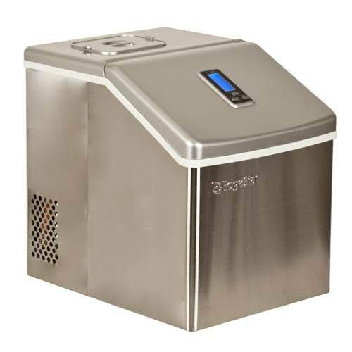 EdgeStar Portable Stainless Steel Clear Ice Maker - Stainless Steel