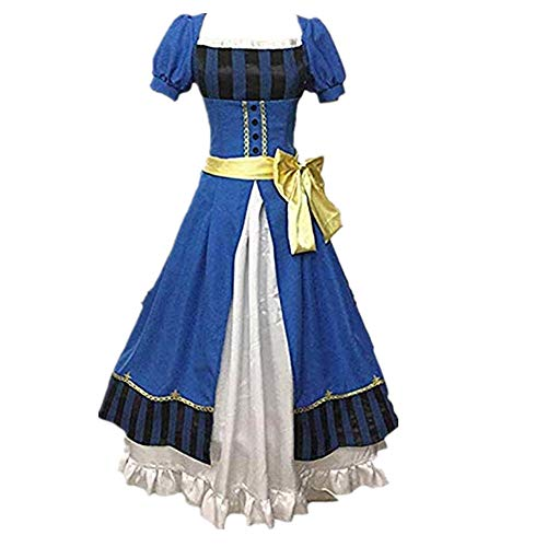 Black Butler Elizabeth Book of The Atlantic Elizabeth Ethel Cordelia Midford Kuroshitsuji Cosplay Costume (Female S)