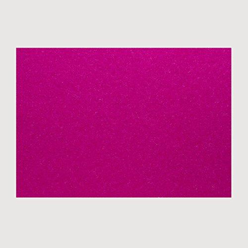 daff Filz Tischset Rechteckig aus Merino-Wolle 33x45 cm deep pink Melange