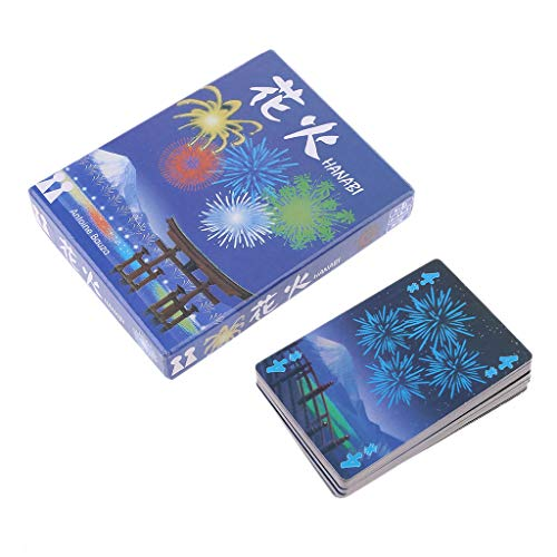 niumanery HANABI Board Game 2-5 Players Cards Games Easy To Play Funny Game for Party/Family Parent-Child Game