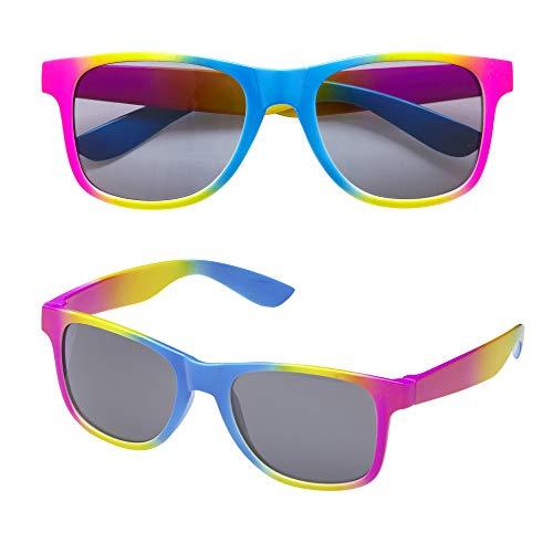 Widmann 01103 - Regenbogenbrille, One Size