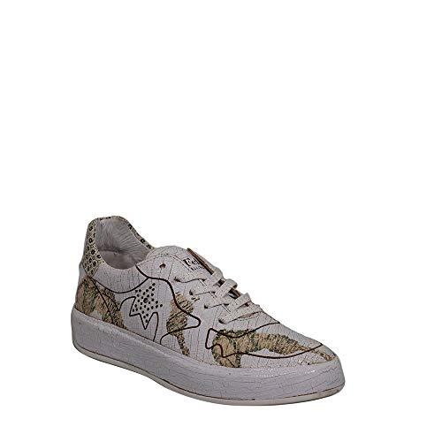 Felmini - Damen Schuhe - Verlieben Trump B010 - Sneakers - Echtes Leder - Mehrfarbig - 37 EU Size