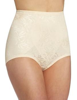 Maidenform Women s Firm Control Shapewear Brief FL6854 Blush X-Large