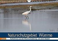 Naturschutzgebiet Wuemme (Wandkalender 2022 DIN A4 quer): Ein Fotokalender mit Aufnahmen aus der Wuemmeniederung, von Jens Siebert (Monatskalender, 14 Seiten )