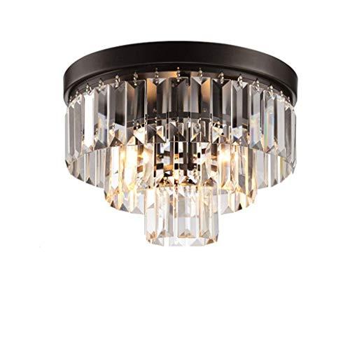 YSH Kronleuchter/Deckenleuchten/Lampe, Sache American Village Retro Lampe Der Decke Creative Crystal Restaurant Lounge Balkon Schlafzimmer Lampen Des Durchbruchs Des Ganges