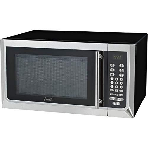 Avanti, AVAMT16K3S, 1,000-watt Microwave, Black,Stainless Steel