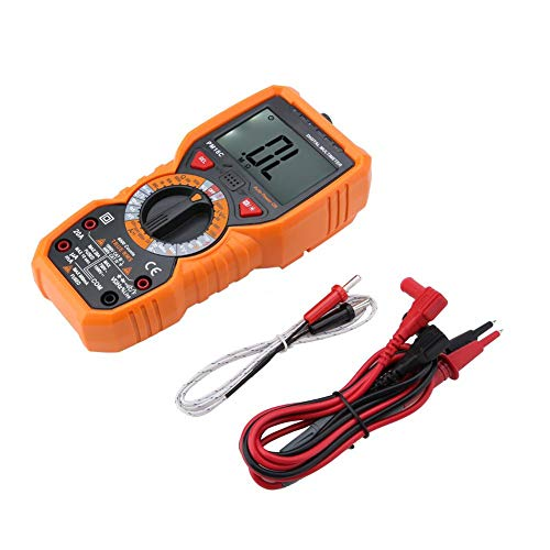 Tester Thermometer Tragbar NCV Auto Manual Ranging Multimeter Thermoelement Datenlogger Spannung Temperatur Widerstand für Elektriker mit Messwiderstand