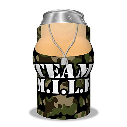 "Boobzie ""Team M.I.L.F"" Insulated Can Cover"