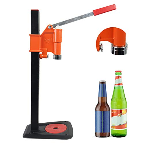 Máquina de la botella de cerveza de la cápsula de la botella de banco con la máquina de la tapa de la cabeza de alta estabilidad de alta estabilidad de la campana magnética Capper de la botella de la