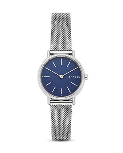 Skagen Damen Analog Quarz Uhr mit Edelstahl Armband SKW2759