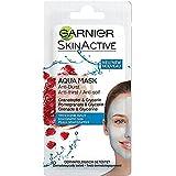 Garnier Skin Active Rescue Mask - Mascarilla Anti-Sequedad con Granada y Glicerina