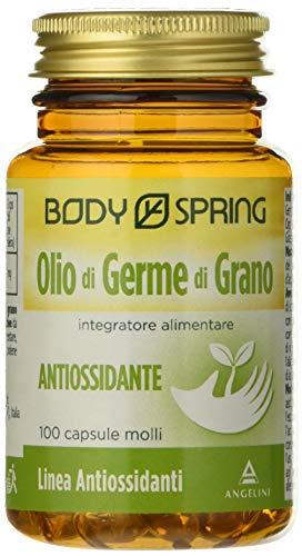 Body Spring Olio di Germe di Grano - 100 capsule molli
