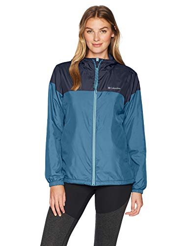 Womens Flash Forward Lined Dark Pool/Nocturnal Windbreaker Jacket