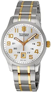 Victorinox Swiss Army Men's 241324 Classic Alliance Stainless Steel Watch