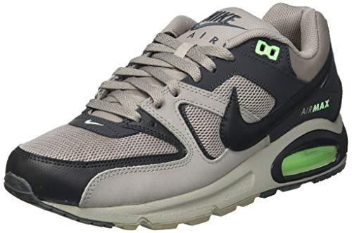 Nike Air MAX Command, Sneaker Hombre, Enigma Stone/Anthracite-Illusion Green, 41 EU