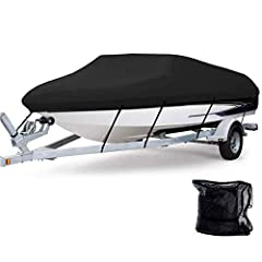 2020 UPGRADE VERSION: Very strong and durable 'RIPSTOP' 600D marine grade polyester canvas give more durability and water resistance delivering Top-Class protection from adverse weather conditions - whether rain, snow, ice, wind, dust or sun! The ent...