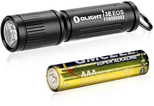 OLIGHT I3E EOS EDC Schlüsselanhänger LED-Taschenlampe 90 Lumen AAA EDC Flashlight Compact Schlüsselanhänger Taschenlampen