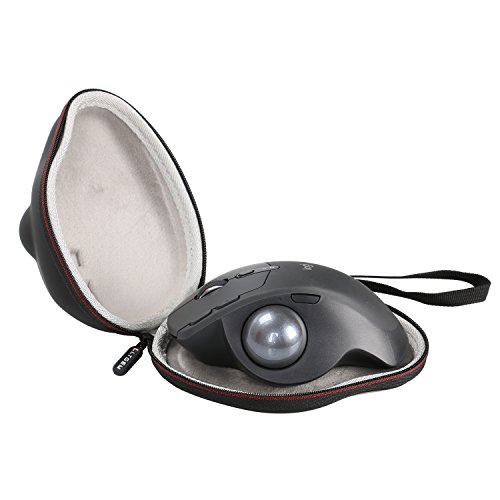LTGEM EVA Hard Case for Logitech MX Ergo Advanced Wireless Trackball & Mx Ergo Plus Trackball Mouse - Travel Protective Carrying Storage Bag