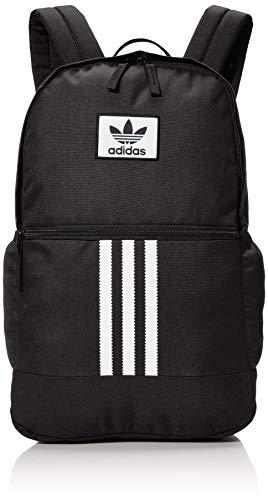 adidas Originals mochila trébol apilado, Unisex adulto, Mochila, 979137, negro/blanco, talla única