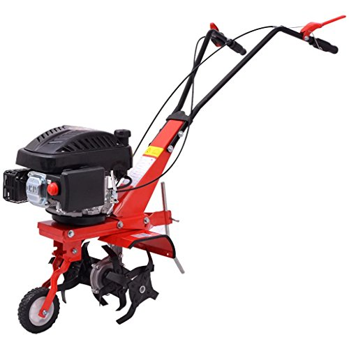 taofuzhuang Benzin Gartenfräse 5 PS 2,8 kW Rot Heim & Garten Rasen & Garten Gartenmaschinen Bodenbearbeitungsmaschinen