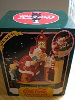 Coca-Cola Santa Claus Mechanical Bank - Santa with Children at the Fireplace - 3rd In The Series
