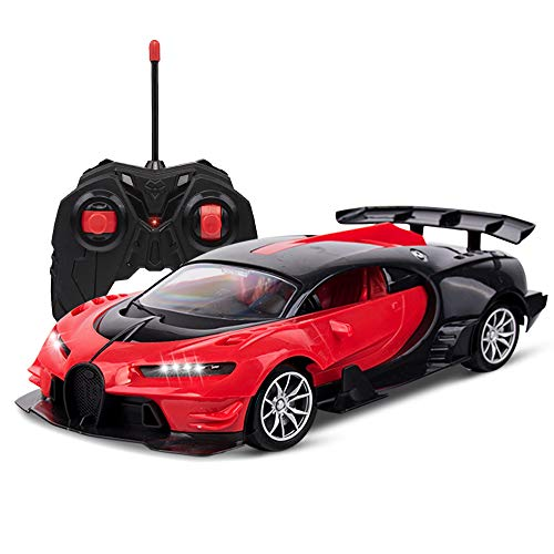 Bugatti Remote Control Car for Boys Toys Bugatti RC Cars for Kids, Rechargable 1/16 High Speed Fast RC Drift Cars for Adults, LED Light Kids Car Toys Gift for Boys Girls